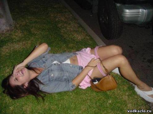 фото пьяная девка